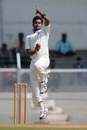 It was his last spell of the season, and Vinay had a lot to fight for