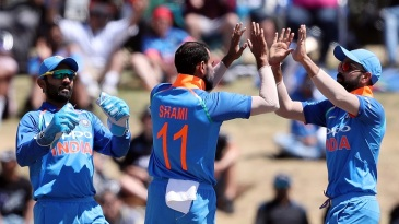 India have won 12 of their last 13 bilateral ODI series