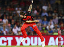 Kane Richardson in his bowling stride, Melbourne Renegades v Sydney Thunder, BBL 2018-19, Melbourne, January 30, 2019
