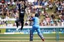 Martin Guptill takes a brilliant catch to dismiss Ambati Rayudu, New Zealand v India, 4th ODI, Hamilton, January 31, 2019
