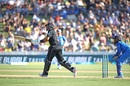 Ross Taylor goes aerial, New Zealand v India, 4th ODI, Hamilton, January 31, 2019