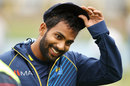 Chamika Karunaratne was handed his first cap, Australia v Sri Lanka, 2nd Test, Canberra, February 1, 2019