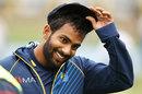 Chamika Karunaratne was handed his first cap, Australia v Sri Lanka, 2nd Test, Canberra, February 1, 2019