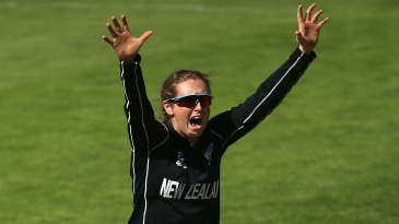 Anna Peterson picked up four wickets