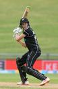 Amy Satterthwaite steers one behind point, New Zealand v India, 3rd women's ODI, Hamilton, February 1, 2019