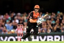 Nick Hobson top-scored for Perth Scorchers, Brisbane Heat v Perth Scorchers, BBL 2018-19, Brisbane, February 1, 2019