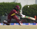 Deandra Dottin sweeps, Pakistan v West Indies, 2nd T20I, Karachi, February 1, 2019