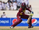 Shemaine Campbelle glides the ball behind point, Pakistan v West Indies, 2nd T20I, Karachi, February 1, 2019