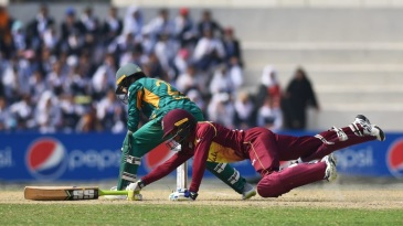 Tension ruled towards the closing stages of the Pakistan v West Indies T20I