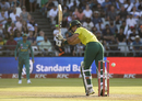 Reeza Hendricks clips the ball fine, South Africa v Pakistan, 1st T20I, Cape Town, February 1, 2019