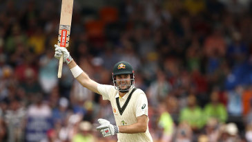 Kurtis Patterson completes his maiden Test hundred
