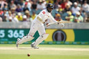 Lahiru Thirimanne works into the leg side, Australia v Sri Lanka, 2nd Test, Canberra, February 2, 2019