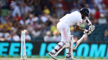 Kusal Mendis cleaned up by a beauty