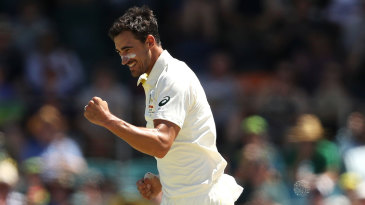 Mitchell Starc produced a rapid display