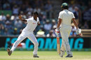 Vishwa Fernando removed Joe Burns, Australia v Sri Lanka, 2nd Test, Canberra, February 3, 2019