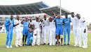 Jason Holder and his men are in a joyous mood, West Indies v England, 2nd Test, 3rd day, Antigua, February 2, 2019