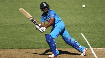 Ambati Rayudu flicks one to the leg side