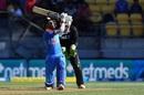 Hardik Pandya unleashes a mighty hit, New Zealand v India, 5th ODI, Wellington, February 3, 2019