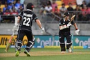 Kane Williamson and Tom Latham steadied New Zealand, New Zealand v India, 5th ODI, Wellington, February 3, 2019