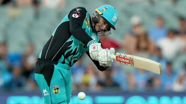 Matt Renshaw led the Heat chase with a 50-ball 90*