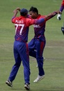 Nepal won the T20I series 2-1
