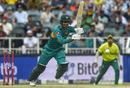 Fakhar Zaman takes off for a single, South Africa v Pakistan, 2nd T20I, Johannesburg, February 3, 2019