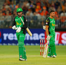 Ben Dunk leaves the field after being given out, Perth Scorchers v Melbourne Stars, Big Bash League, Perth Stadium, February 3, 2019