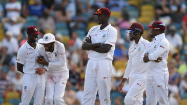 Jason Holder pips Jason Gillespie as the tallest Test double-centurion by about two inches