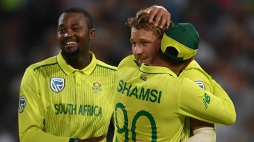 Miller led South Africa to a narrow win in his first game in charge