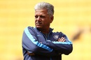 WV Raman looks on, New Zealand women v India women, 1st T20I, Wellington, February 6, 2019