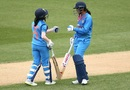 Smriti Mandhana and Jemimah Rodrigues shared a 98-run partnership for the second wicket, New Zealand women v India women, 1st T20I, Wellington, February 6, 2019