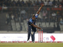 Andre Russell in his delivery stride, Dhaka Dynamites v Rangpur Riders, BPL 2019, 2nd Qualifier, Dhaka, February 6, 2019