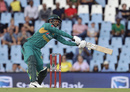 Fakhar Zaman reaches out for a delivery, South Africa v Pakistan, 3rd T20I, Centurion, February 6, 2019
