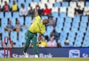 Junior Dala conceded 17 runs in his first over, South Africa v Pakistan, 3rd T20I, Centurion, February 6, 2019