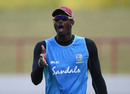 West Indies captain Jason Holder during a net session at Darren Sammy National Cricket Stadium, Gros Islet, Saint Lucia, England tour of West Indies, February 7, 2019