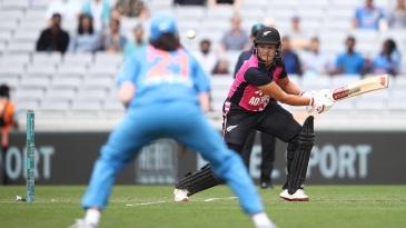 Suzie Bates led the New Zealand batting effort