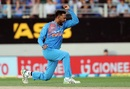 Krunal Pandya celebrates a wicket, New Zealand v India, 2nd T20I, Auckland, February 8, 2019