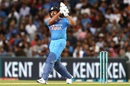 Rohit Sharma pulled out the big shots early in India's chase, New Zealand v India, 2nd T20I, Auckland, February 8, 2019
