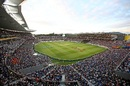 A view of Eden Park, nearly filled to capacity with fans, New Zealand v India, 2nd T20I, Auckland, February 8, 2019