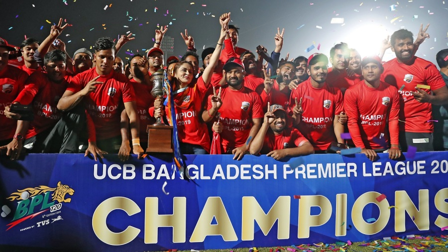 Comilla Victorians were crowned BPL 2018-19 champions