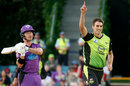 Pat Cummins made a rare appearance for Sydney Thunder, Sydney Thunder v Hobart Hurricanes, Big Bash, Canberra, February 9, 2019