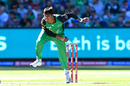Sandeep Lamichhane in his follow through, BBL 2018-19, Melbourne Stars v Sydney Sixers, Melbourne, February 10, 2019