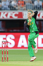 Adam Zampa sizes up his target, BBL 2018-19, Melbourne Stars v Sydney Sixers, Melbourne, February 10, 2019