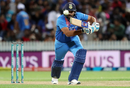 Rohit Sharma sets off for a run, New Zealand v India, 3rd T20I, Hamilton, February 10, 2019