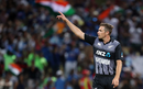 Tim Southee gestures at a fielder, New Zealand v India, 3rd T20I, Hamilton, February 10, 2019