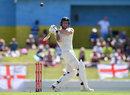 Ben Stokes pulls through the leg side, West Indies v England, 3rd Test, St Lucia, 2nd day, February 10, 2019