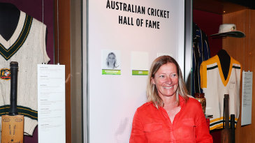 Cathryn Fitzpatrick was unveiled in Australia's Hall of Fame
