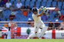 Jos Buttler drives through the covers, West Indies v England, 3rd Test, St Lucia, 3rd day, February 11, 2019