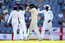 Jos Buttler walks off as West Indies celebrate, West Indies v England, 3rd Test, St Lucia, 3rd day, February 11, 2019