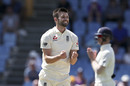 Mark Wood celebrates a breakthrough, West Indies v England, 3rd Test, St Lucia, 4th day, February 12, 2019